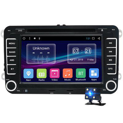 Junsun 2531.AS 2 Din Android Car DVD for VW / Golf / Passat / POLO / Tiguan / Skoda / Fabia / Rapid / Seat / Leon GPS 3G WiFi Autoradio Image