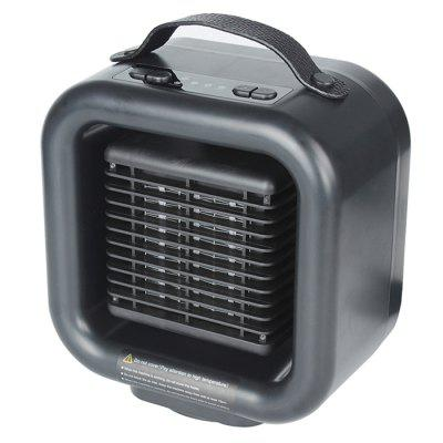 H1089 Creative Desktop Warm Fans Shaking Head Portable Mini Heater