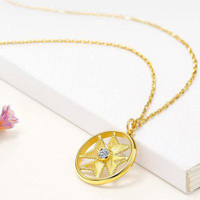 Xiaomi youpin LUCKYME 18K Gold Diamond Necklace Earrings