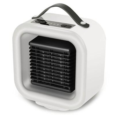H1089 Creative Desktop Portable Warm Fans Shaking Head Mini Heater