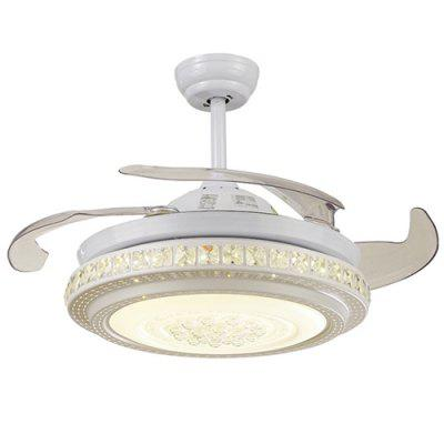 36W Simple LED Pendant Light with Fan for Home