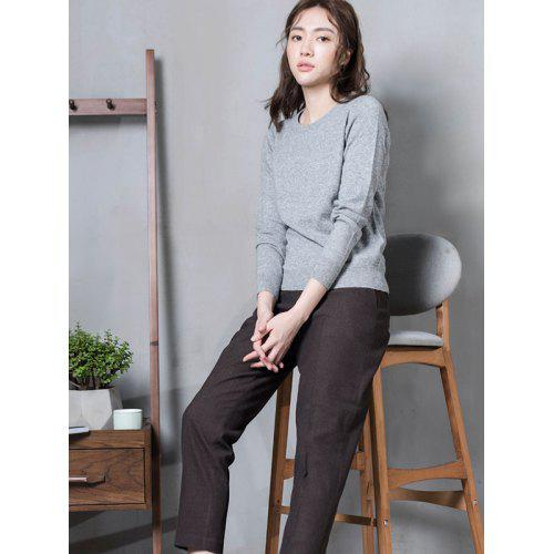 b564bdf1bee4 Women s Basic Round Neck Pullover Cashmere Sweater from Xiaomi ...