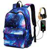 Batoh Oxford Star Multi-Function Backpack - BLUEBERRY BLUE