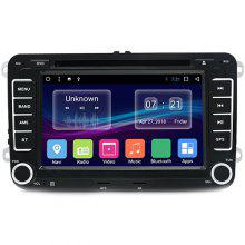 A 7-inch 2 Din Android Car DVD Radio Player For VW
