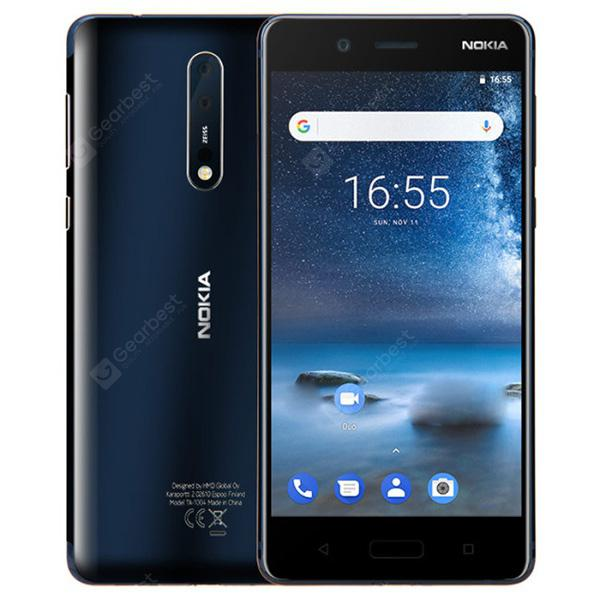 Smartphone 4G Nokia 8 Version Globale -