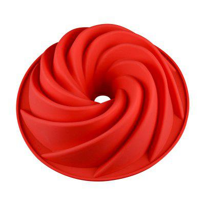 9 inch Hollow Spiral Food Grade FDA High Temperature Cake Mold