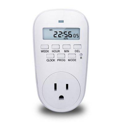 GET02A - US Intelligent Electronic Timer Switch American Timing Smart Socket