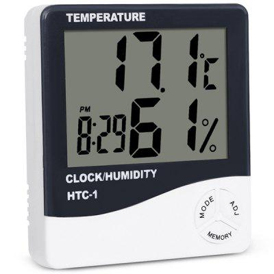 Screen Home High Precision Indoor Electronic Thermometer Alarm Clock