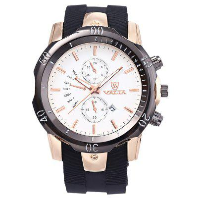 Valia 8292 Men's Quartz Watch Business Calendar
