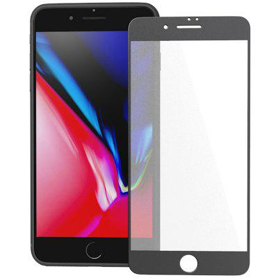 ZK Full Screen Matte Black Tempered Glass Film for iPhone 8