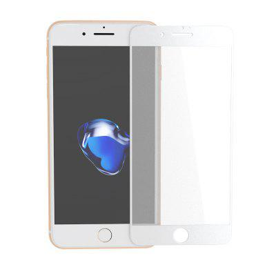 Zk Full Screen Matte White Vidro Temperado para iPhone 7