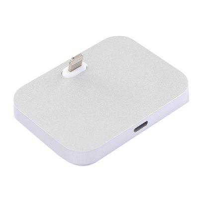 Aluminum Mobile Phone Charger Tablet Charging Base For iPhone / iPad