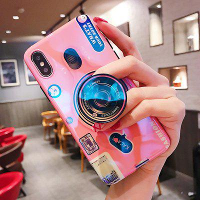 Retro Camera Phone Case with Holder for HUAWEI P20