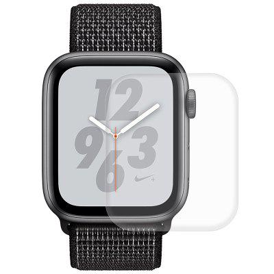 Hat - Prince Carbon Fiber Screen Screen Beschermfolie Case voor Apple Watch Series 4
