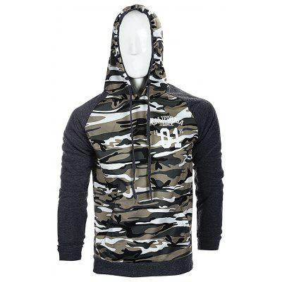 Fashion Camouflage Assorted Colors Hoodie for Men