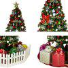 Christmas Tree 1.5 / 1.8 / 2.1 Meters Shopping Mall Home Decoration Set with Lights European Regulations - DEEP GREEN