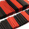 2:1 Shrinkable Sleeve Heat Shrink Insulation Wire Cable Tube Kit 127pcs - MULTI-A