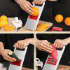 Stainless Steel Multi-function Shredder Fruit Vegetable Slice Tool Grater - SILVER