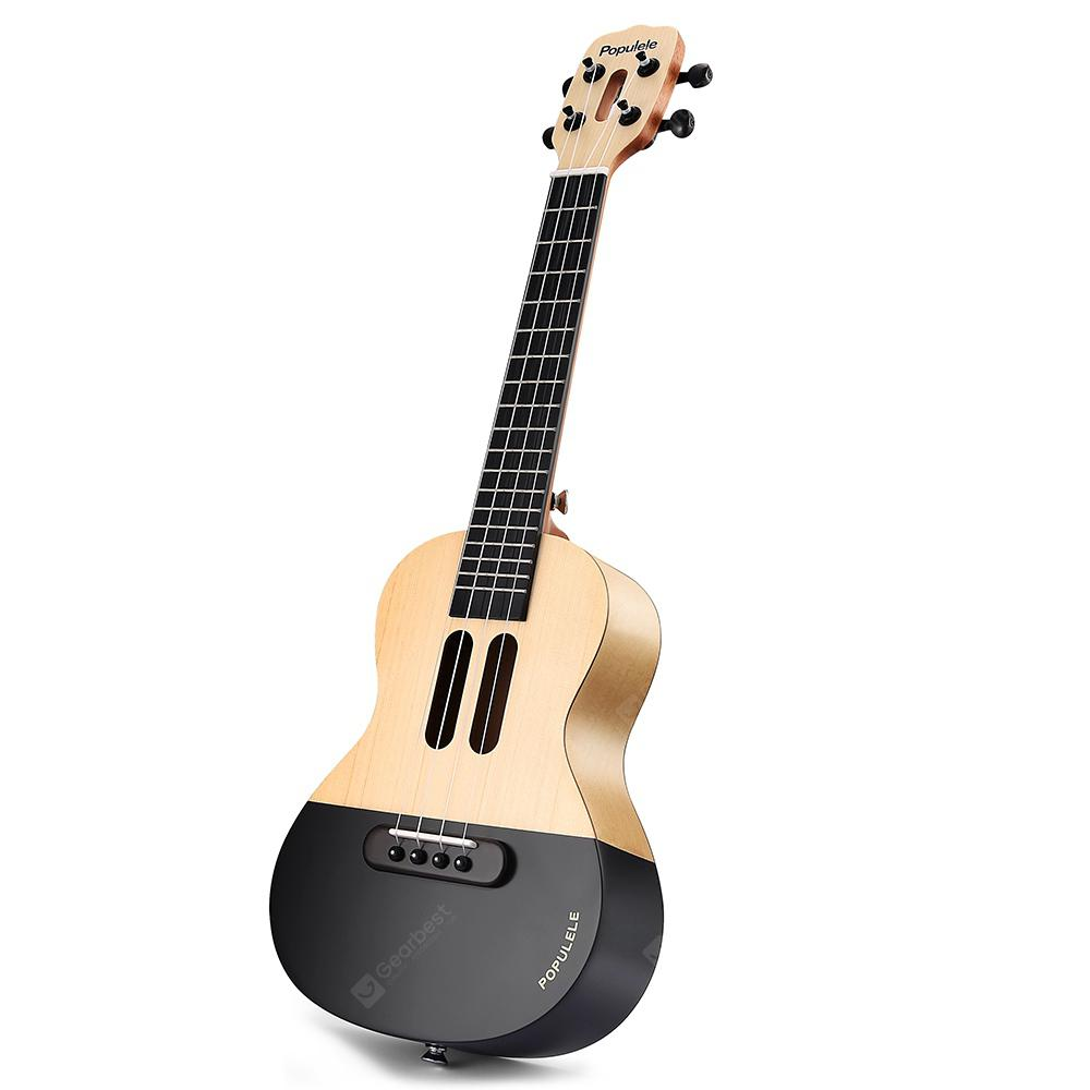 Xiaomi Populele APP LED Bluetooth USB Smart Ukulele 1pc | Gearbest
