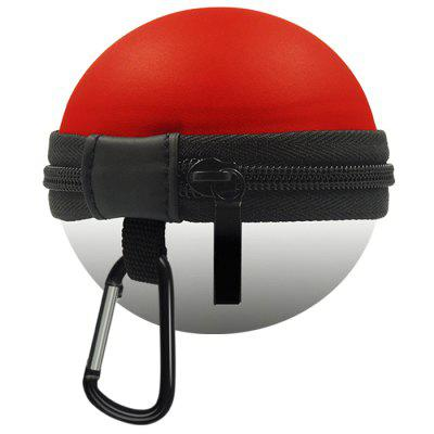 Round Portable EVA Hard Suitable for Switch Wizard Ball Storage Bag