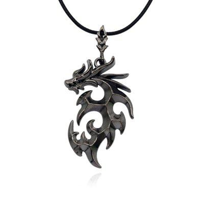 Hip-hop Punk 12 Zodiac Dragon Necklace