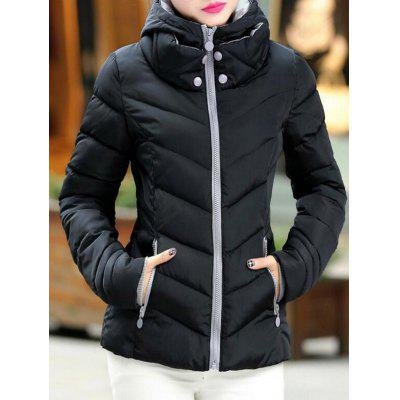 SYWT 0187 Slim-fit Winter Women's Hooded Cotton Clothing