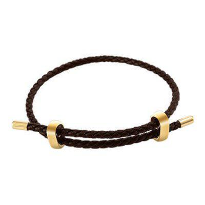 Easy Matching Leather Rope Pulling Bracelet from Xiaomi youpin