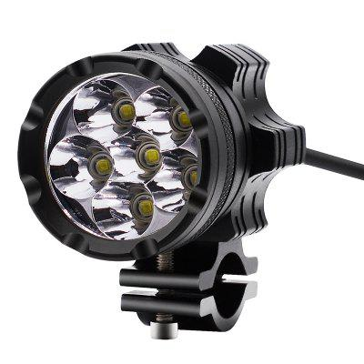 Motorcycle Waterproof Aluminum Alloy External LED Headlights