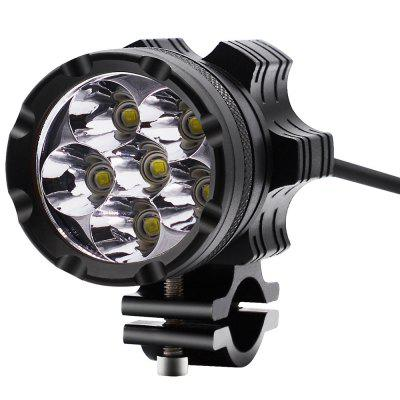 Motorcycle Waterproof Spotlight Aluminum Alloy External LED Headlights