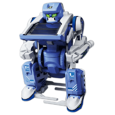 DIY Assembled Science Robot Toy Puzzle Model