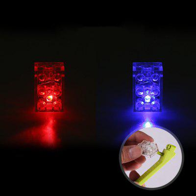 DIY Puzzle Small Particles Building Blocks Toys LED Lights Colorful Luminous Toy Accessories 10PCS