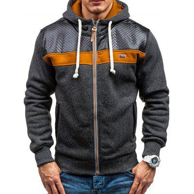 Men Leisure Sports Stylish Hoodie with Cap