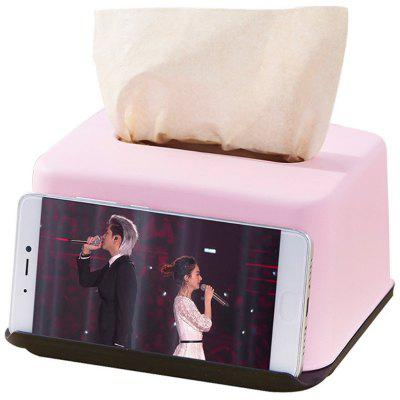 Multi-function Phone Holder Function Tissue Box