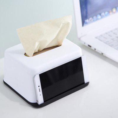 Multi-purpose Mobile Phone Holder Function Tissue Box