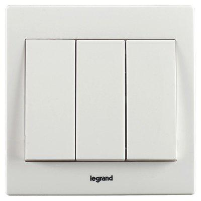 Legrand 10AX Three-position Single Control Switch