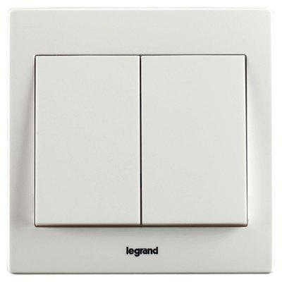 Legrand 10AX Two-position Dual Control Switch