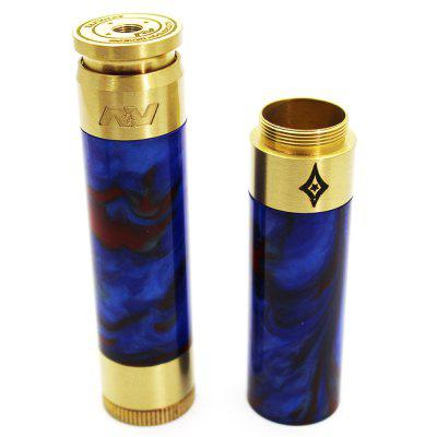 AV Able Stacked  Dual Battery Mode Suits 18650 Battery Mechanical Mod
