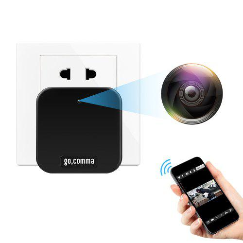 Gocomma MC48 WiFi Socket Plug 1080P Full HD Security Camera
