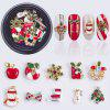 Christmas Series Art Patch Snowflake Bell Nail Stick Drill - MULTI-A