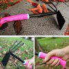 Gardening Tools Big Shovel Pine Soil Hoe Three-piece Set Planting Tool - PINK