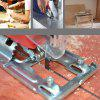 Electric Jig Household Woodworking Hand Pull Flower Saw - BLUE