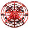 HXB - 003R Induction RC Drone Altitude Hold Obstacle Avoidance UAV - RED