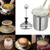 Milk Frother Stainless Steel Foaming Machine Milking Bubbler - SILVER