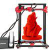 Alfawise U20 Large Scale 2.8 inch Touch Screen DIY 3D Printer - BLACK