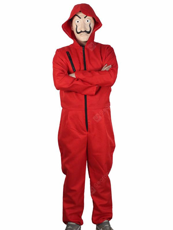 check out 7b43d 0fccd Roter Overall Clown Anzug für Cosplay