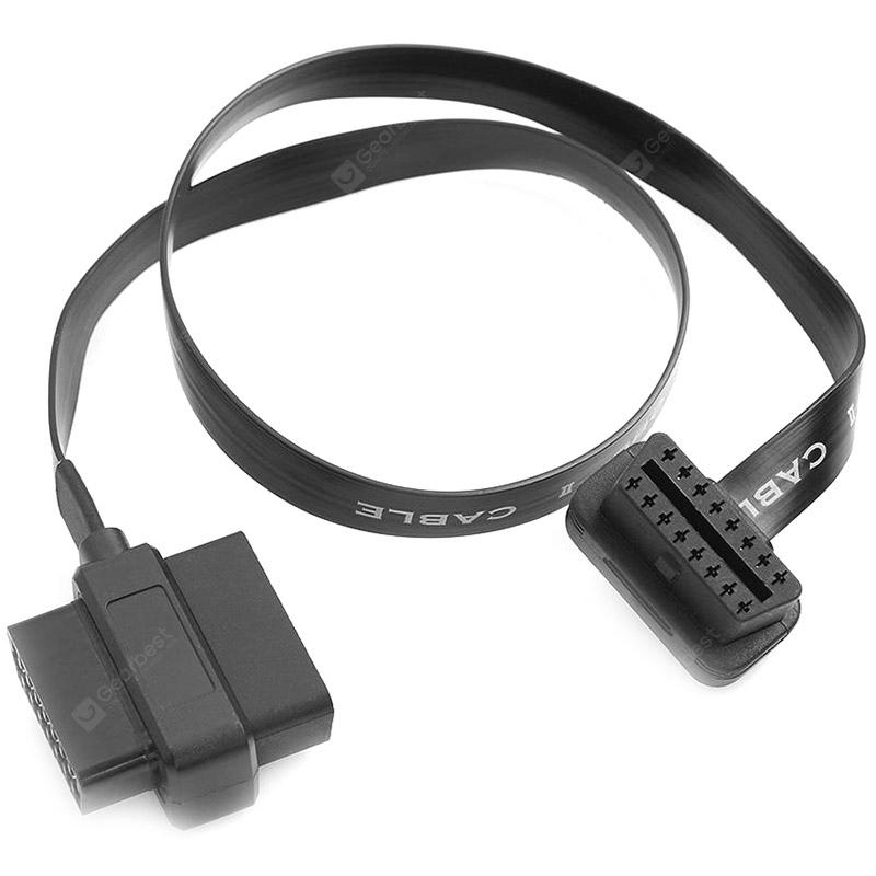OBDII 16 Male / Female Connector Extended Cable Distributor