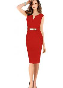 5eaaf1de0979 Bodycon Dresses - Sexy Black and White Long Sleeve Bodycon Dress for ...