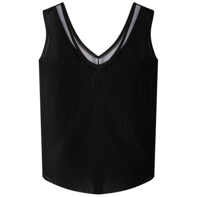 HQ0053 Damen Modisches Ärmelloses Shirt