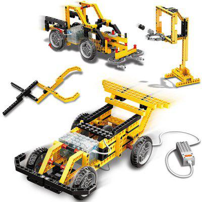 Wange Remote Control Electric Building Blocks Compatible with Robot Engineering Car