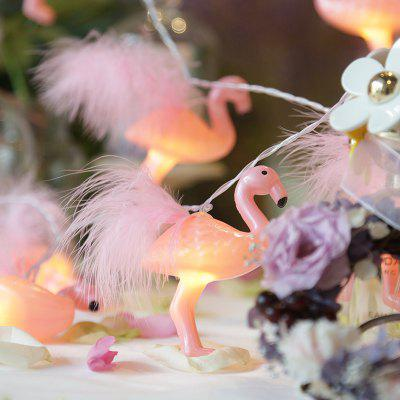 Flamingo LED Lamp String Copper Line